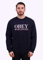 Obey La Vella Sweater - Navy