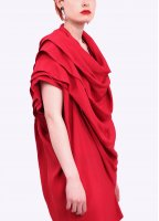 Vivienne Westwood Anglomania Rill Dress - Red