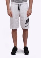 Nike Apparel Nike Knows Franchise Shorts - White / Black
