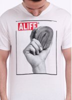 Alife Stacks Tee - White