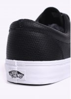 Vans Era Perforated Leather Trainers - Black