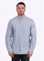 Paul Smith Long Sleeve Classic Fit Shirt - Heather Blue
