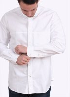 Paul Smith Long Sleeve Classic Fit Shirt - White