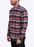 Penfield Jansen Plaid Shirt - Navy