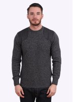 Barbour Abraham Crew Jumper - Charcoal