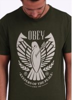Obey Keepers of the Peace Tee - Army Green