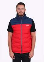 Adidas Originals Apparel Praez Synt Vest - Scarlet / Blue