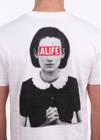 Alife Life Of Sin Tee - Bleached White