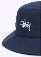 Stussy Herringbone Bucket Hat - Navy