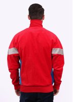 Adidas Originals Apparel CLR84 Challenger Track Top - Scarlet Red / Grey