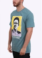 Stussy Kim Don't Surf Tee - Steel Blue