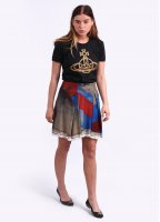 Vivienne Westwood Anglomania Trail Skirt - Multi Coloured