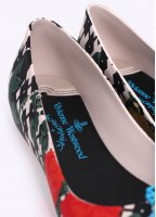 Vivienne Westwood Anglomania x Melissa Ultragirl Flower Orb Shoes - Red