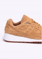Saucony Shadow 6000 'Irish Coffee' Suede Trainers - Whisky