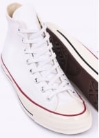 Converse Chuck Taylor 70's Hi Trainers - White / Egret