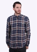 Barbour William Shirt - Navy