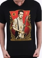 Obey Joe Strummer Foundation Tee - Black