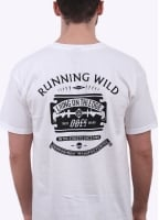 Obey Running Wild Tee - White