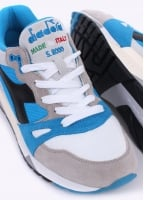 Diadora S8000 Nylon 'Made in Italy' Trainers - Blue / Grey