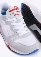 Diadora S8000 Nylon 'Made in Italy' Trainers - White / Blue
