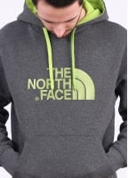 The North Face Drew Peak PLV Hoodie - Medium Grey Heather