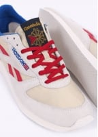 Reebok London TC Trainers - Paperwhite / Cream / Red
