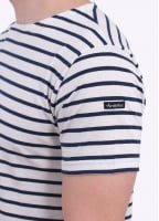 Armor Lux SS Sailor Shirt - White / Navy