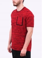 Nike Apparel Tech Knit Pocket Tee - Red