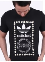 Adidas Originals Apparel x Pharrell Williams Graphic Tee 1 - Black