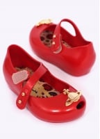 Vivienne Westwood x Melissa Kids Ultragirl Orb Shoes - Red