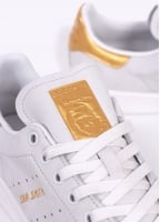 Adidas Originals Footwear Stan Smith Gold Leaf '24 Karat' - Vintage White
