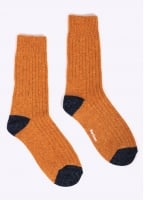 Barbour Houghton Socks - Gold / Navy