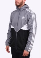 Adidas Originals Apparel CRDO Windbreaker - Grey / Black