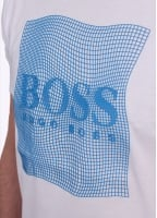 Hugo Boss Green Tee 8 - White