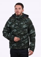 The North Face Box Canyon Down Jacket - Rosin Green Camouflage