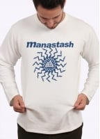 Manastash Mt Swirl FBT Light Sweat - White