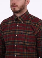Barbour Castlebay Check Shirt - Crimson