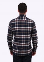 Barbour Castlebay Check Shirt - Navy