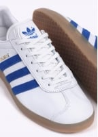 Adidas Originals Footwear Gazelle - White / Blue