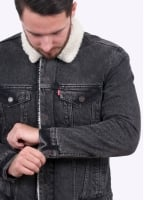 Levi's Red Tab Type 3 Sherpa - Brusted
