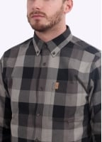 Fjallraven Ovik Big Check Shirt - Black