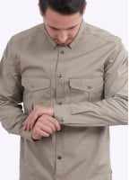 Fjallraven Greenland Shirt - Light Khaki