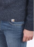 Carhartt Morris Sweater - Black / Navy