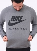 Nike Apparel International Crew - Carbon Heather