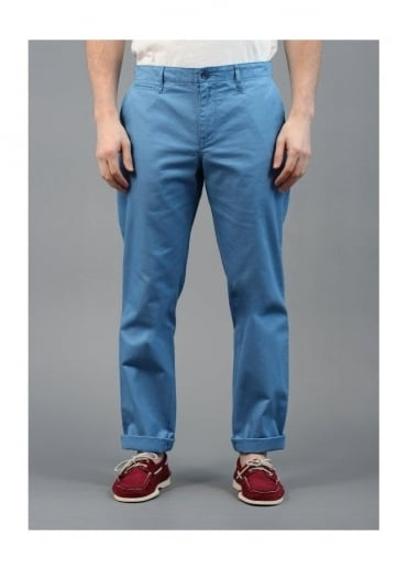 Lyle & Scott Vintage Chino Trousers Riviera Blue