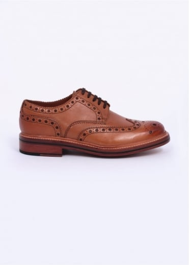 Grenson Archie Brogue - Tan