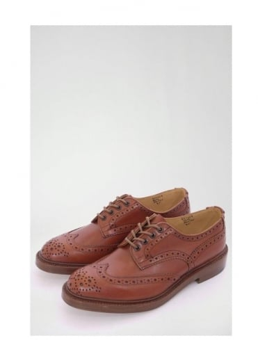 Trickers Bourton Brogue Shoe Antique