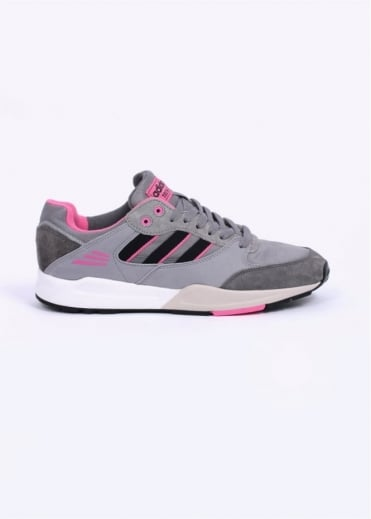 Adidas Originals Footwear Tech Super Trainers - Grey / Black / Pink