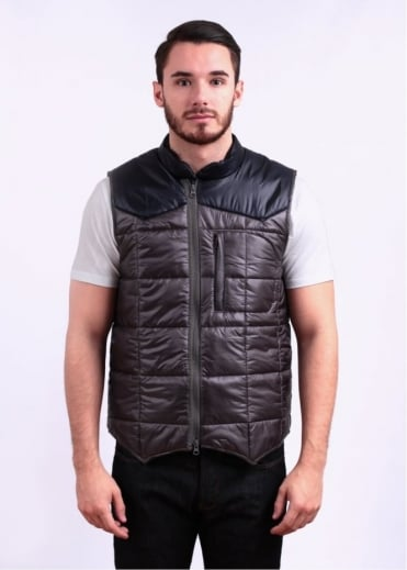 Adidas Originals Apparel x Kazuki 84-Lab Padded Vest - Stone Grey