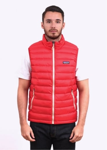 Patagonia Down Sweater Vest - Cochineal Red